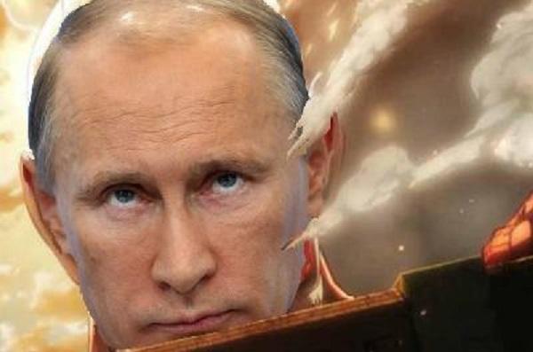 進撃のプーチン