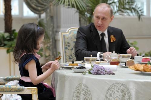 プーチン食事