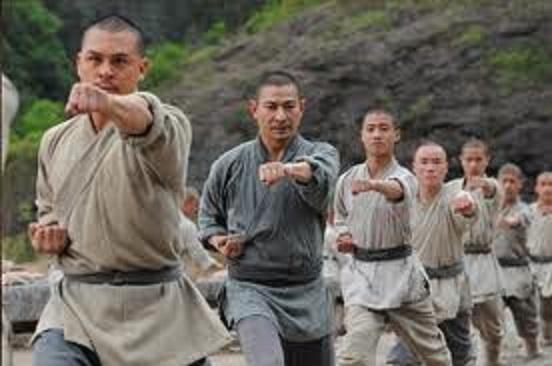 少林寺練習