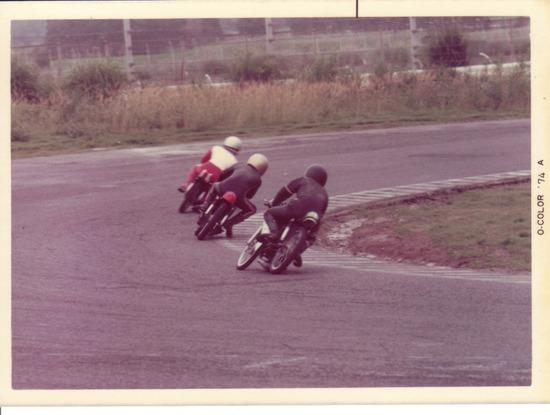 74年 MFJ筑波のレース