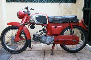 1960-62 Honda C110 Super Sports Cub
