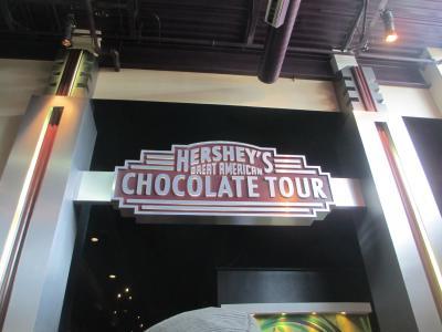 Hershey's chocolate world④