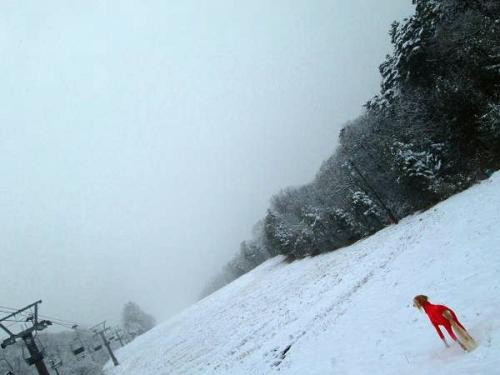 初雪遊びは3