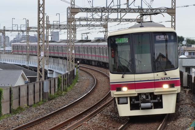 京王8704F 区間急行 若葉台