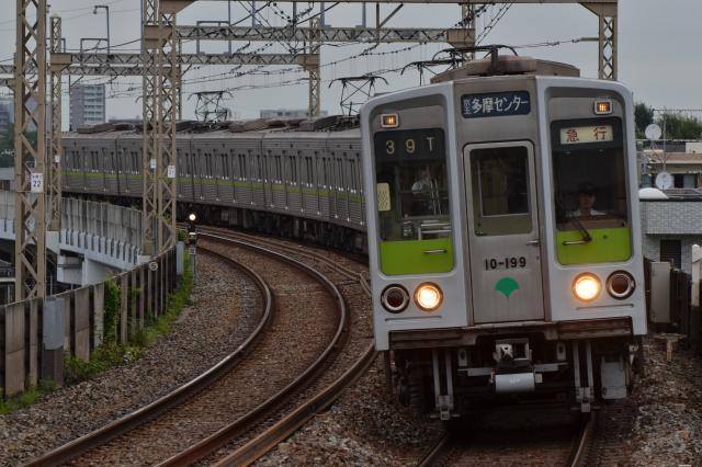 都営10-190F 急行 京王多摩センター