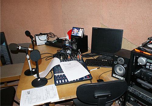 FMView収録スタジオ