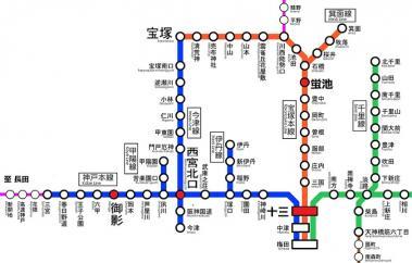阪急路線図