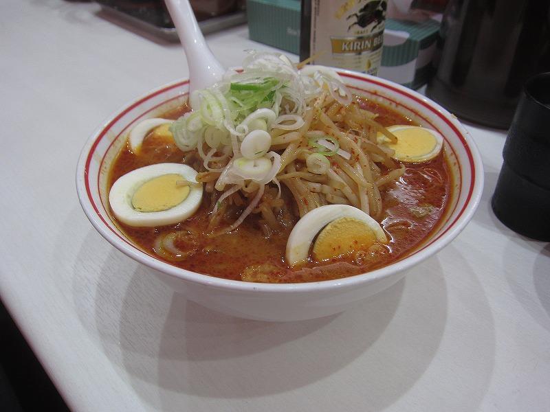 味噌卵麺w