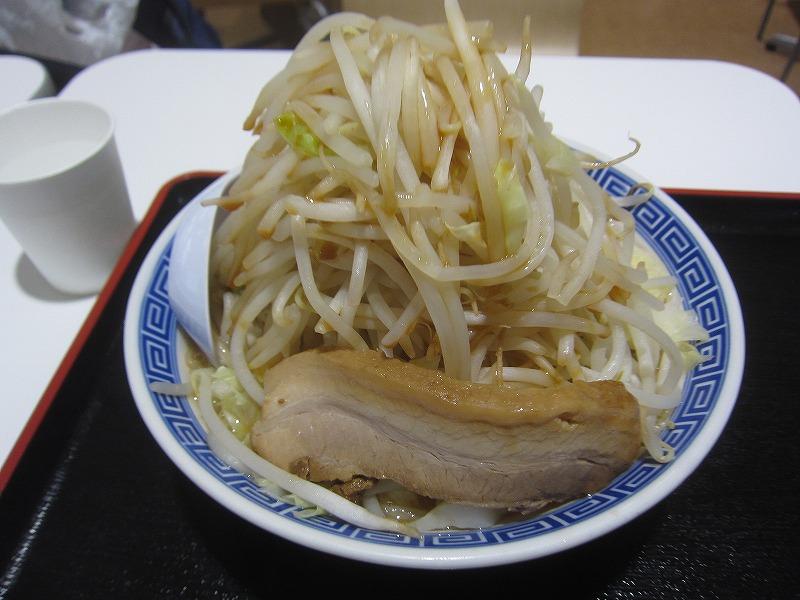 角ふじ麺 野菜増し ¥750