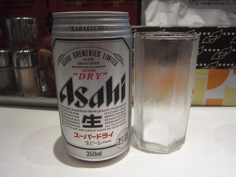 缶ビールw
