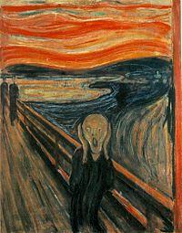 ムンクの叫びの画像