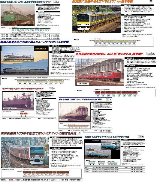 トミックス3月103系常磐線d