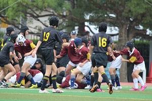 2013.8.24 練習試合1年 vs 亀岡中学④