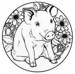 豚コースター