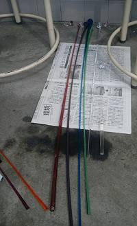 吹きガラス工房にて3-s