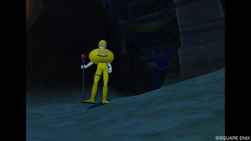 黄色たたずむ