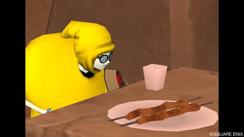 お腹がすいてた