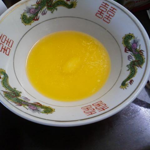バター溶かし
