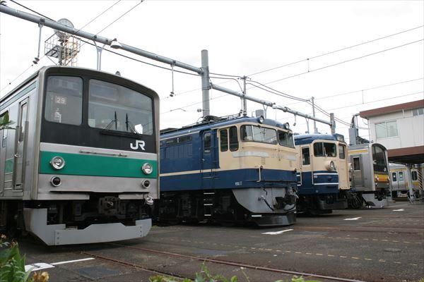 ハエ29編成&EF65501&115系訓練車&ナハ34編成