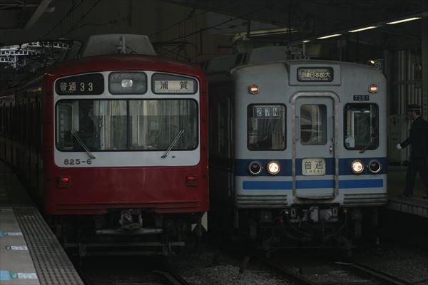 825編成&7268F 2013 11/3