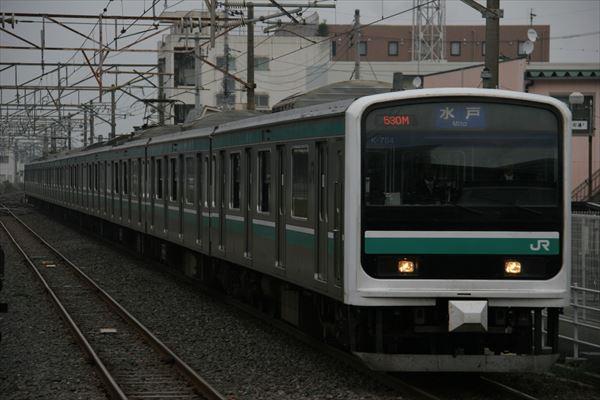 E501系 K704編成 2013 11/10