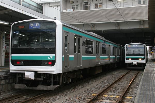 E501系 K704編成&E501系 K753編成 2013 11/10