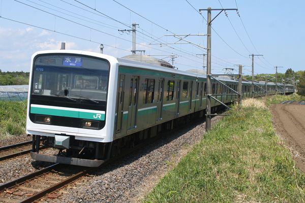 E501系 K703編成