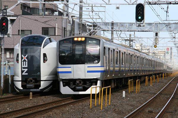 E259系&E217系 Y138編成