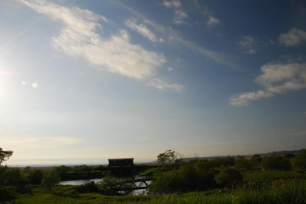釧路湿原 岩保木水門