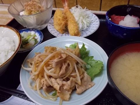 ラスト四品定食