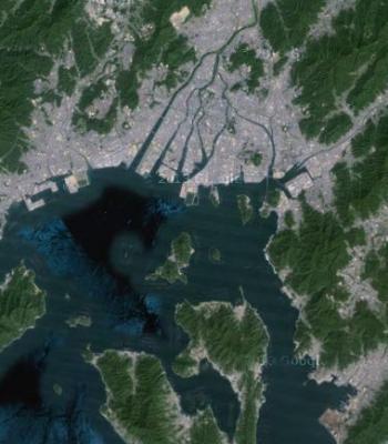 20130929_瀬戸内海上空(googlemap)