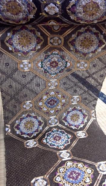 蘇州刺繍袋帯 アップ