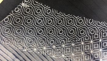 刺子刺繍 アップ2