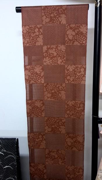 汕頭刺繍 帯