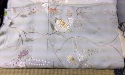 蘇州刺繍着物1