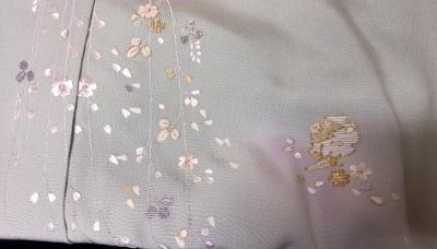 蘇州刺繍着物8 アップ