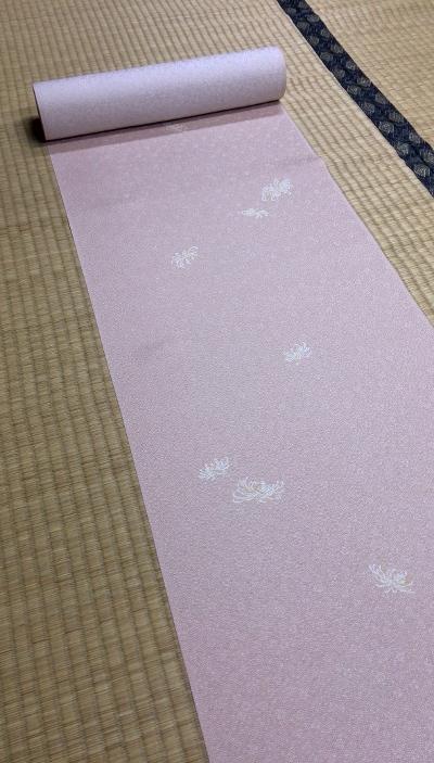 小紋 ピンク