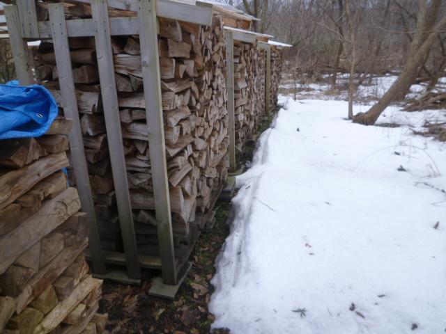 とりあえず薪小屋3