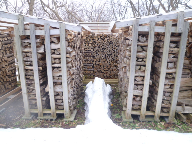 とりあえず薪小屋4