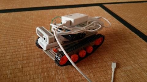 RaspberryPiで作った戦車