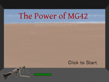The_Power_of_MG42 スタート画面