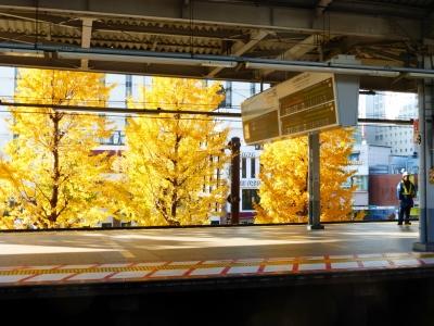 京急品川駅にて 2013 12・2