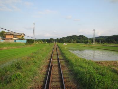 いすみ鉄道線路