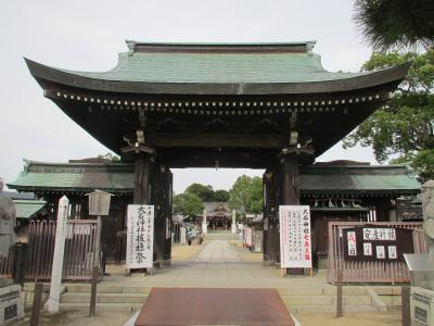 大石神社門