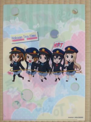 東京駅×けいおんクリアファイル裏