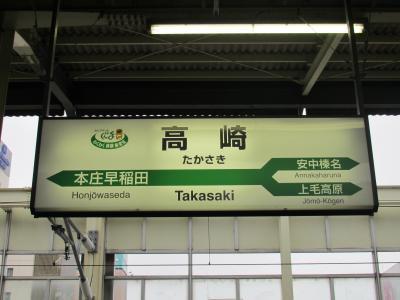 高崎駅看板
