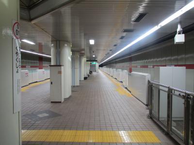 中村区役所駅ホーム