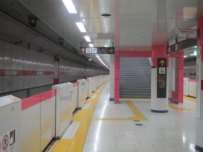 徳重駅ホーム