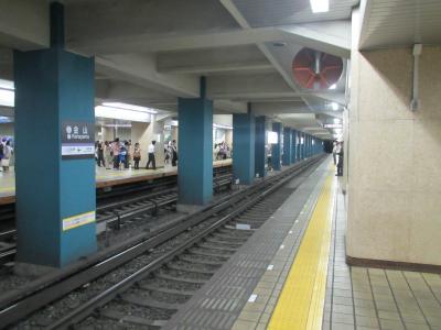金山駅ホーム