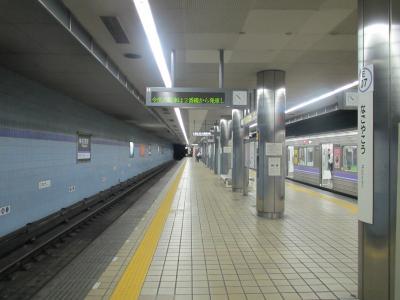 名古屋港駅ホーム